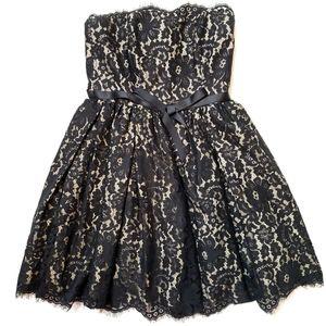 Neiman Marcus Target   Black Lace Dress sz 2